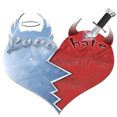 True Confession of the Heart: My Hatred Is Strong